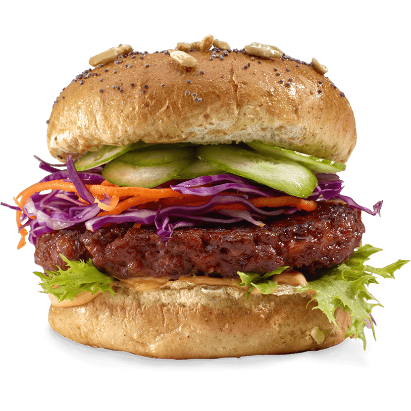 Vegan Hold the Beef grill flavor burger